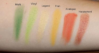 Kat Von D Mi Vida Loca Remix Eyeshadow Palette Swatches