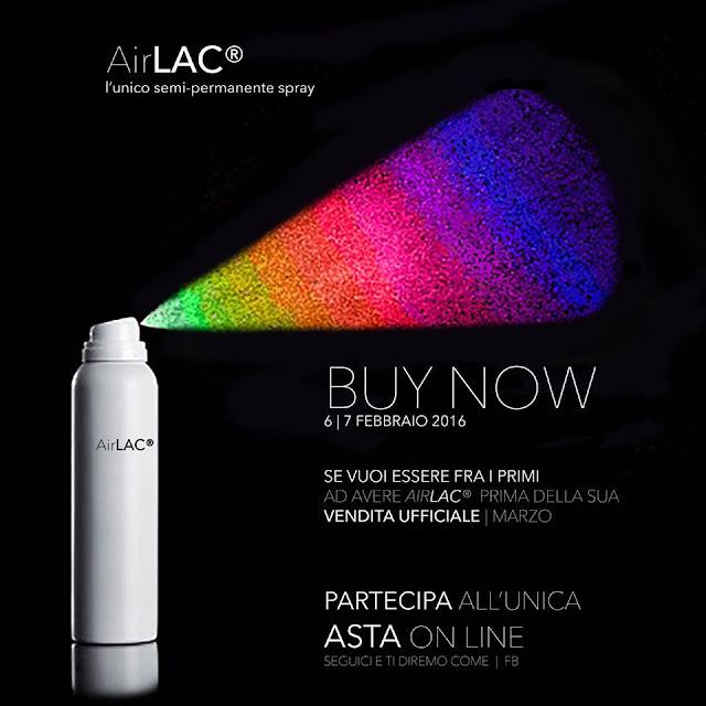 AirLAC L'UNICO SEMI-PERMANENTE SPRAY IS COMING!!!!