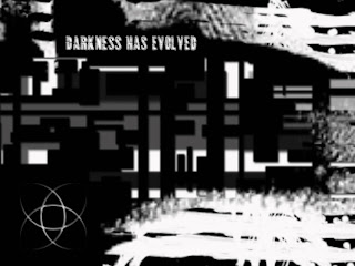 Darkness Has Evolved Dark Gothic Wallpaper