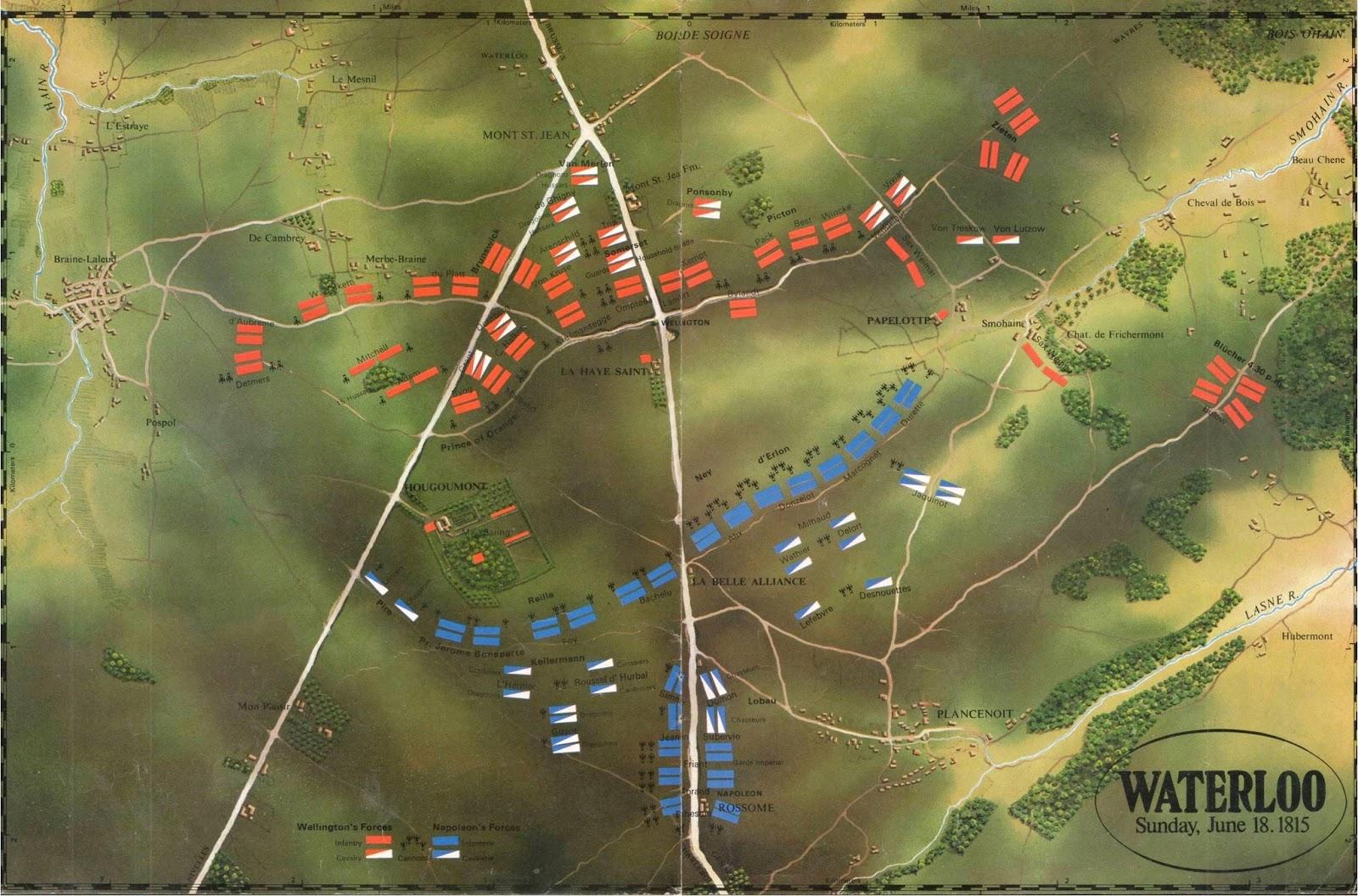 The Legatus Napoleonic Wargames Armies The Peninsula  : waterloo2Bsp5 from quatrebraswargame.blogspot.com size 1600 x 1056 jpeg 367kB