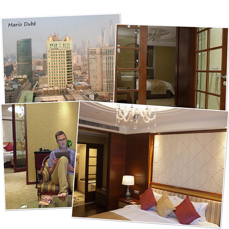 La suite executive au Central Hotel Shanghai