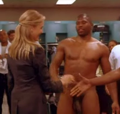 Whos the naked black guy from the movie Any Given Sunday
