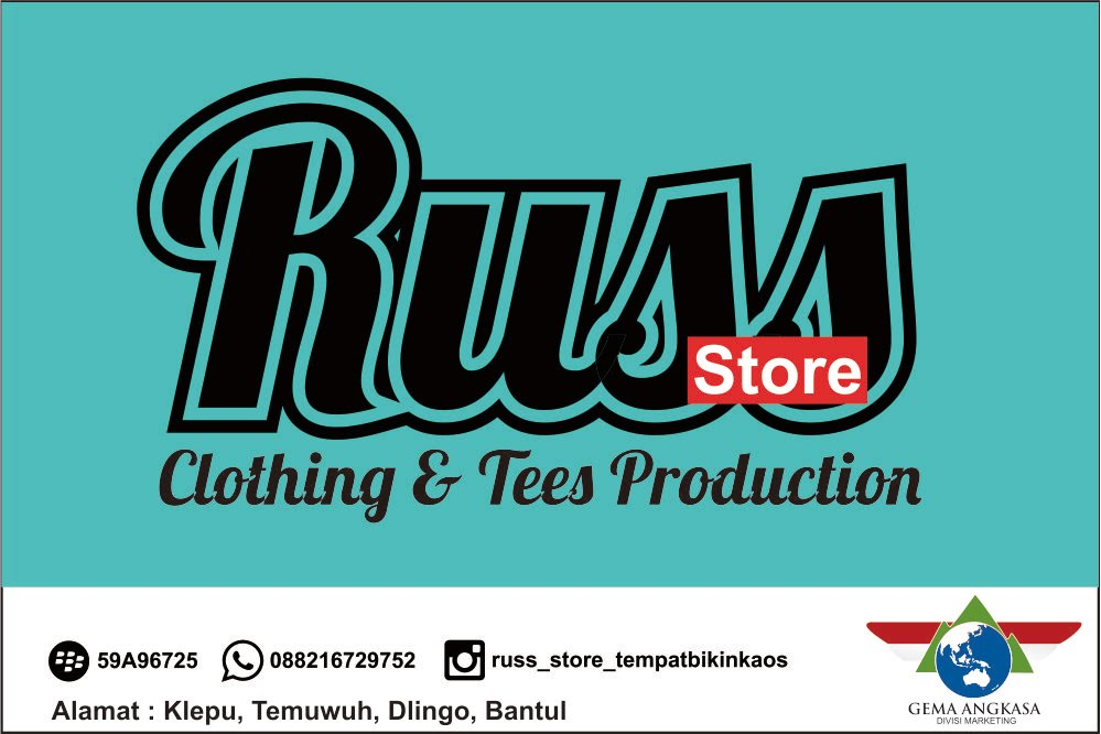 Sablon Kaos & Clothing