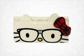 Hello Kitty nerd purse wallet
