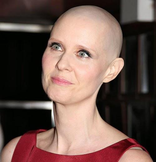 Cynthia Nixon supera un cáncer.