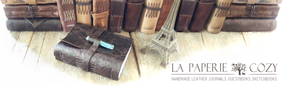 la paperie & cozy handmade journals