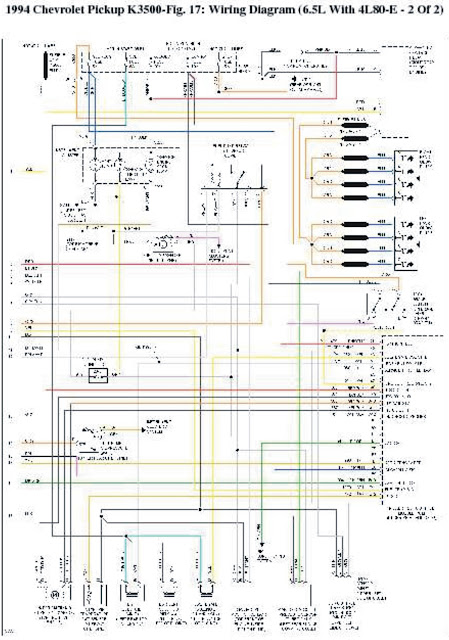 1994 Chevrolet Pick-Up K3500 Wiring Diagrams | Wiring ...