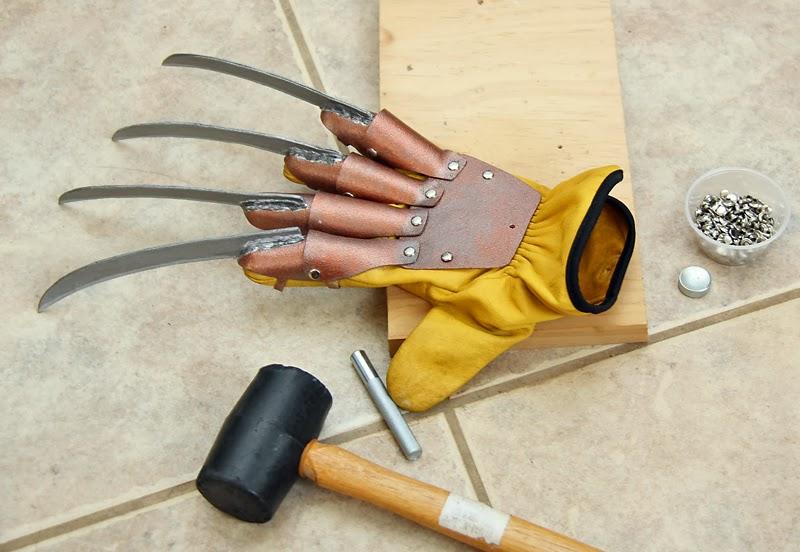 Как сделать перчатки фредди крюгера
