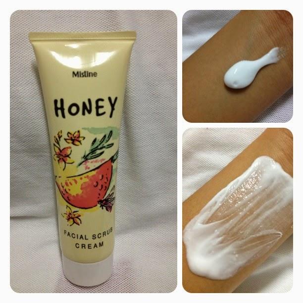 Testimoni Mistine Honey Facial Scrub
