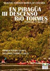 III DESCENSO EN PIRAGÜA DEL TORMES 2016