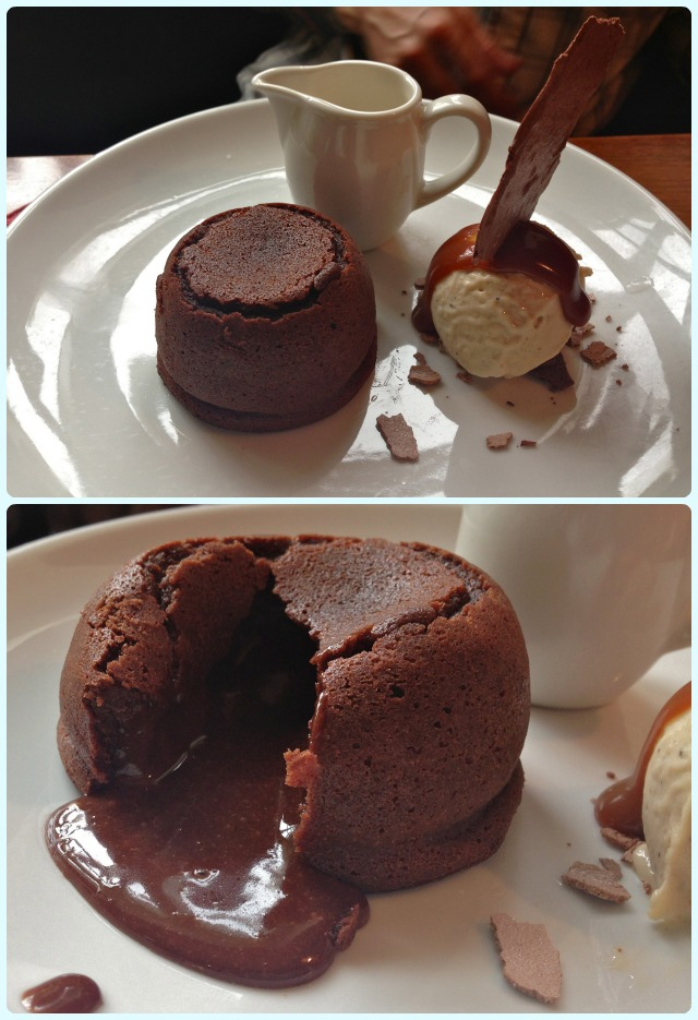 Parkers Arms - Chocolate Fondant