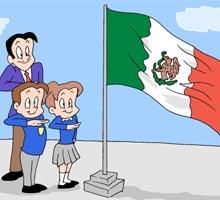 velframonblogspotmx Len Gto Imgenes de la bandera de Mxico