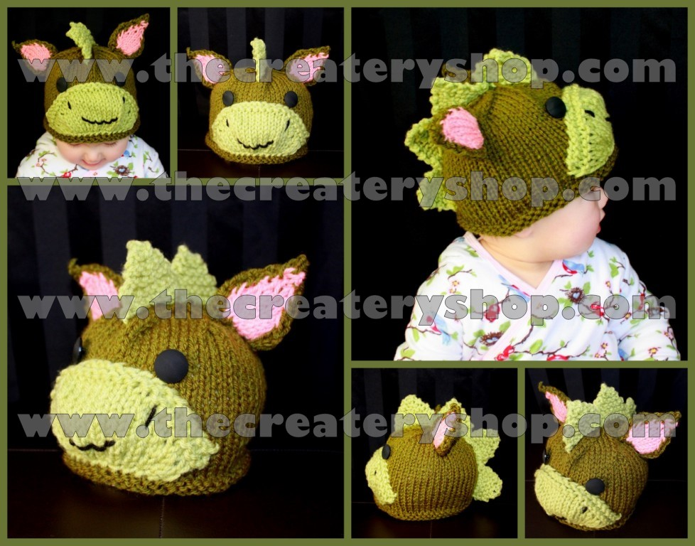 The Createry Shop: Cute Baby Animal Hat