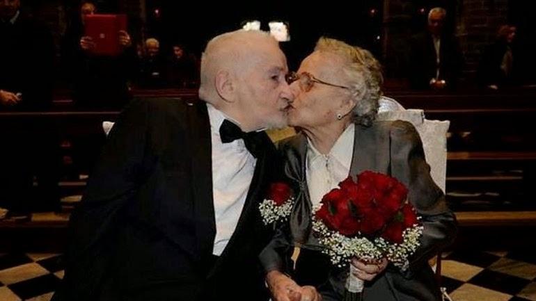 IMPRESIONANTE - Se reencontraron 70 años después gracias a Facebook y se casaron