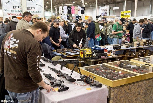 Gun sales on the rise in the U.S