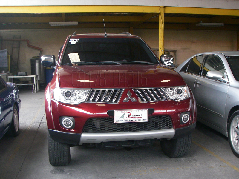 Cars for sale in the philippines 2011 mitsubishi montero for sale gls v fully loaded
