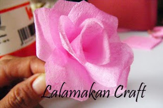 Cara Membuat Kerajinan Tangan Bunga Mawar Dari Kertas Jagung