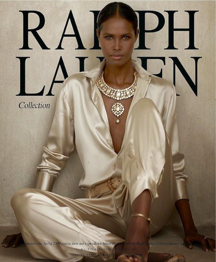 Ubah Hassan for Ralph Lauren Spring 2009