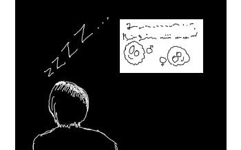 dormindo na aula