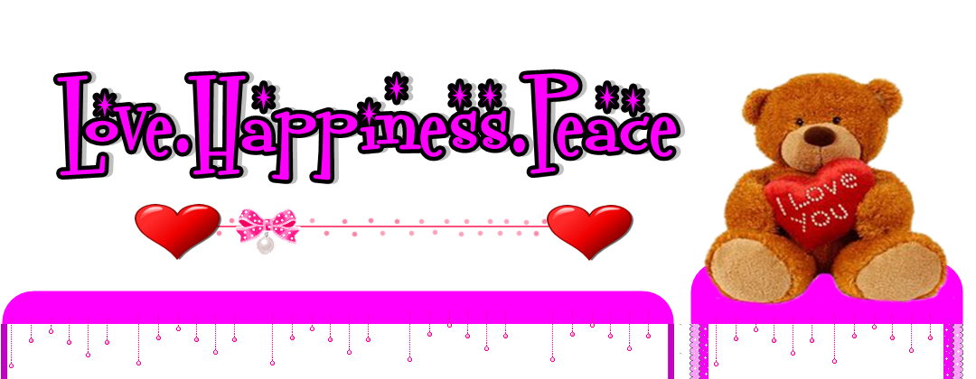 love.happiness.peace
