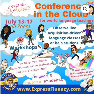 I'm presenting!  July 2020