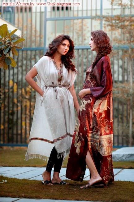 Misha Lakhani Winter Pashmina Collection 2014 8580691cf85