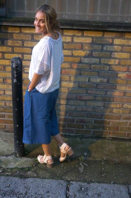 chloeschlothes - culotte pants avec jean