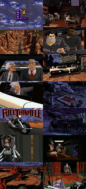 Full Throttle Scumm Tim Schafer Lucas Arts