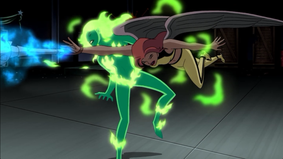 Fire justice league unlimited