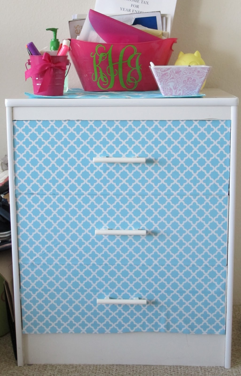 Covering Furniture With Contact Paper In Diy Contact Paper Dresser Makeover Nautical By Nature