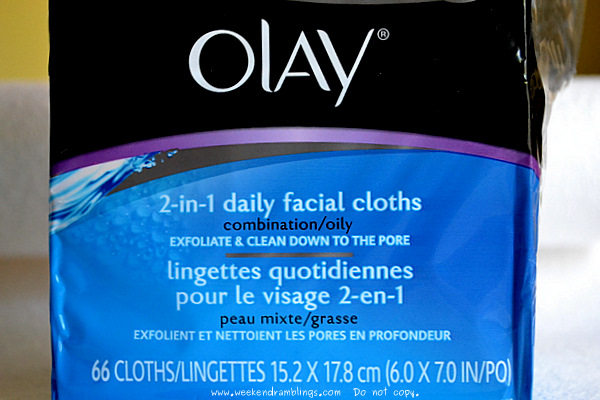 Olay Daily Facials 2 in 1 Cleansing Cloths Use Directions Oily Combination Sensitive Skin Face Wash Ingredients Reviews