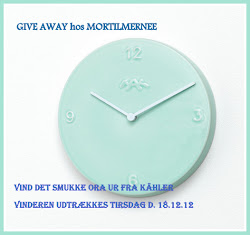 Give Away hos mig