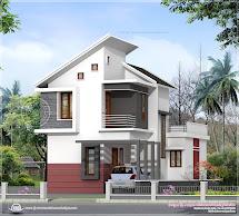 Kerala Small House Plot Plan