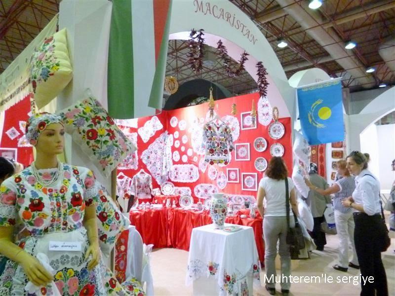 Halk eğitim festivali Macaristan standı