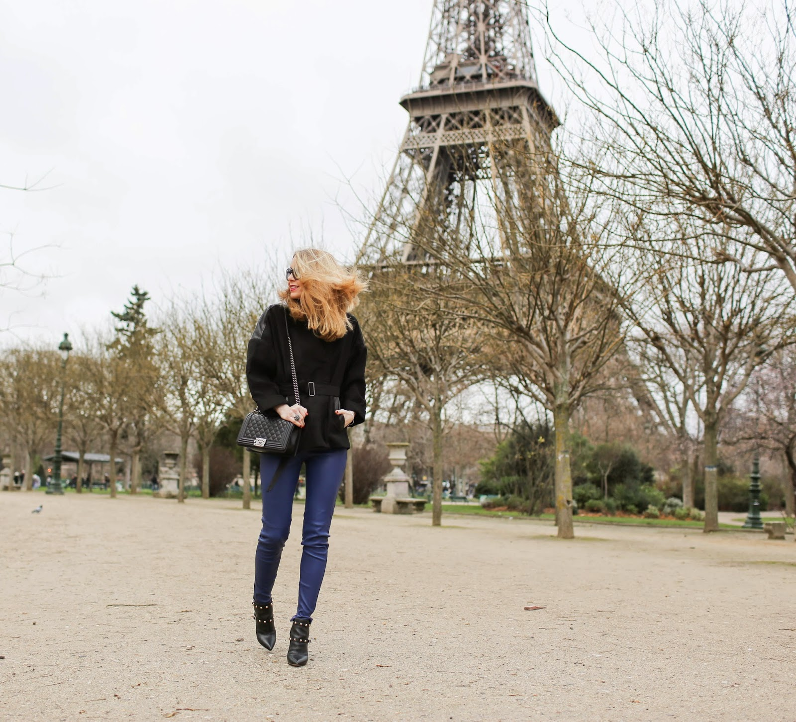 theoutnet, pardon my obsession, victoria beckham, helmut lang, valentino, chanel, streetstyle, eiffel tower