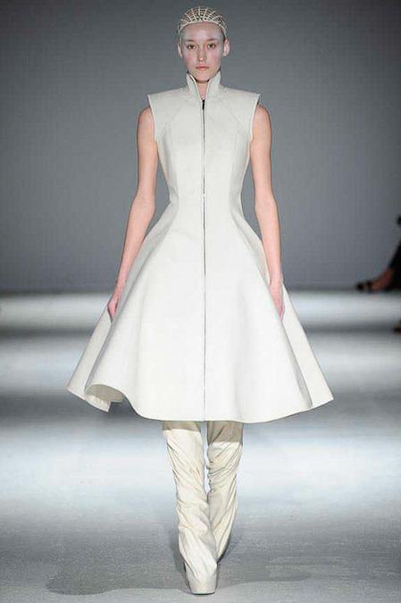 gareth pugh, fw2014, paris fashion week