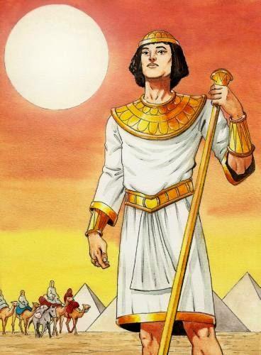 José do Egito desenho colorido