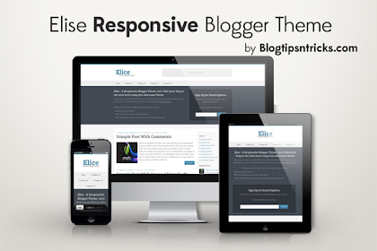 Template Blogger Elice Responsive
