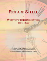 Richard Steele Websters Timeline History 1614 2007