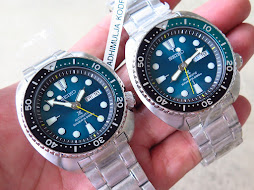 SEIKO DIVER NEW TURTLE - SEIKO DIVER SRPB01-SUNBURST GREEN DIAL-LIMITED EDTION-SEIKO HULK AUTOMATIC