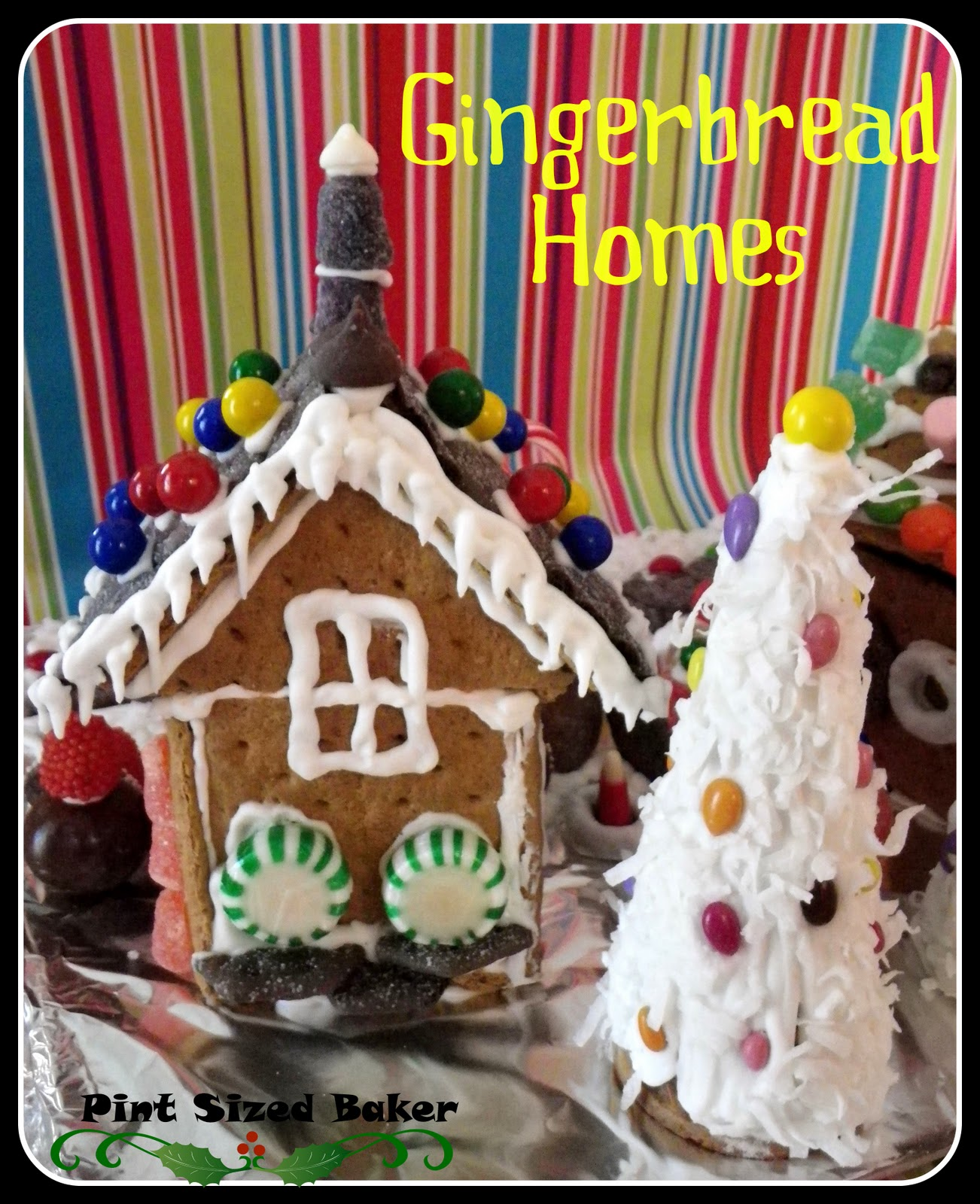 Gingerbread Graham er Houses - Pint Sized Baker on butterfly roof designs, church roof designs, gingerbread house chimneys, gingerbread house masonry, garden roof designs, birdhouse roof designs, snow roof designs, gingerbread house details, gingerbread house roofing,