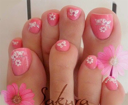 Nail Art Design 2014 Toe Nail Art Designs
