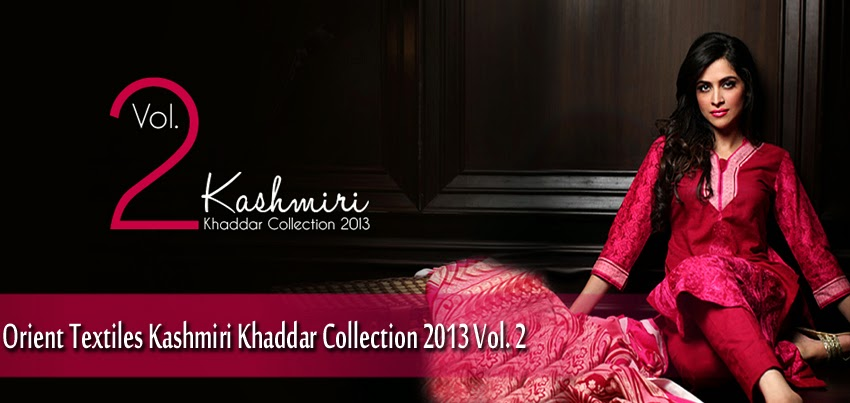 OrientTextilesKashmiriKhaddarCollection2013Vol2 wwwfashionhuntworldblogspotcom 0001 - Orient Textiles Kashmiri  Fall/Winter Collection 2013 vol 2