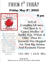 Hops & Pie 1st Firkin Friday