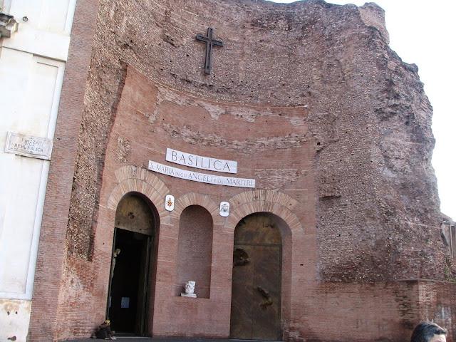 Roma, iglesia de Santa María de los Ángeles