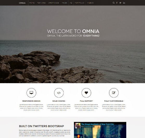 JM Omnia Multipurpose and Responsive Joomla Template