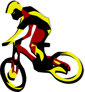Mountain Bike Vector Design for Hoodie