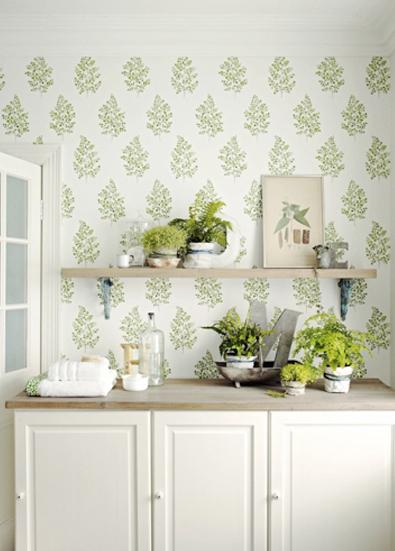 Papeles para cocinas un golpe de efecto con estilo - Papeles pintados cocina ...