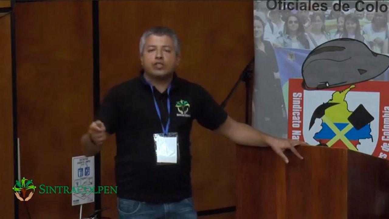 Participación el en XIII Encuentro Nacional Estatal - SINTRACOLPEN