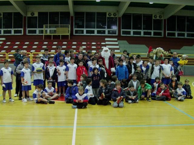 Η Χριστουγεννιάτικη εκδήλωση της ομάδας μπάσκετ του Ηρακλή Θήβας
